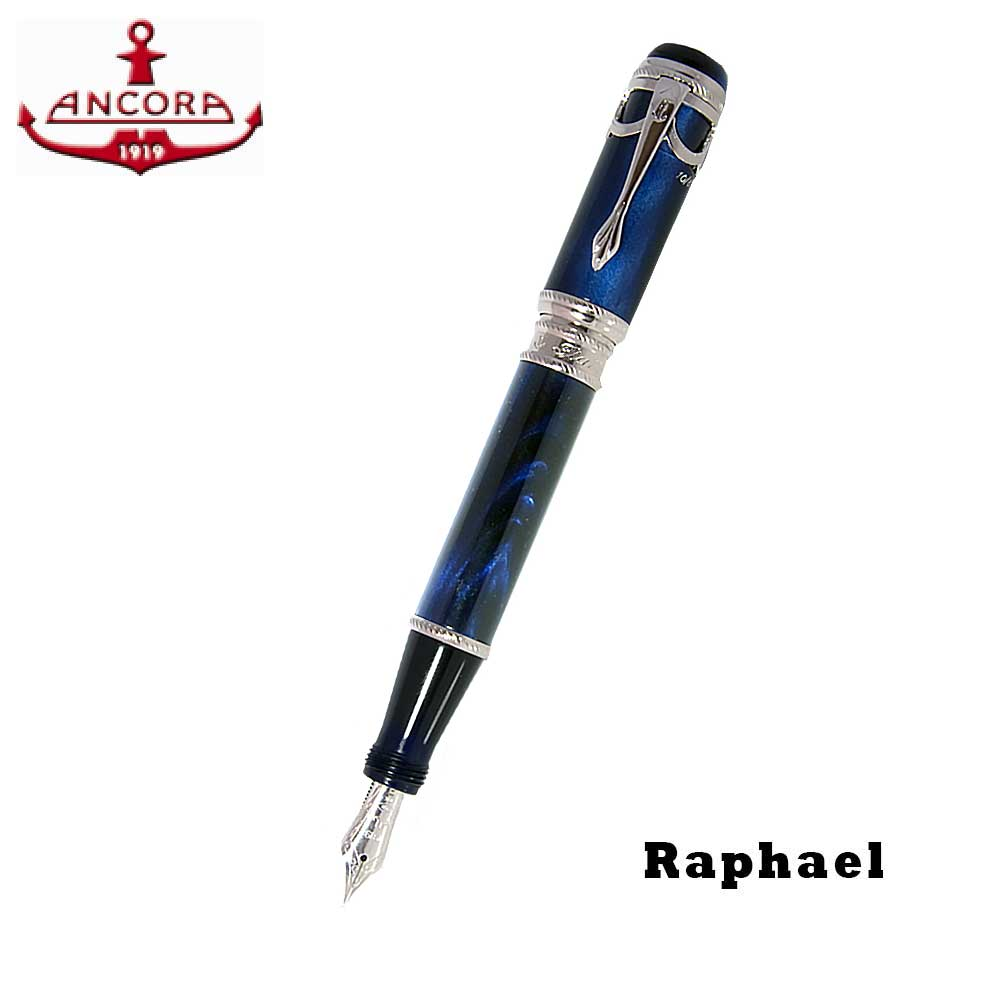 Ancora Raphael Blue Fountain Pen