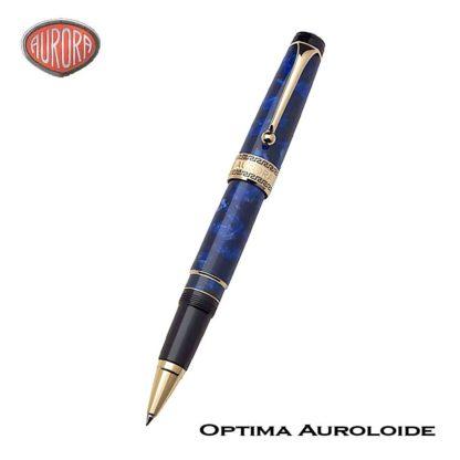 Aurora Optima Auroloide Blue Roller Ball