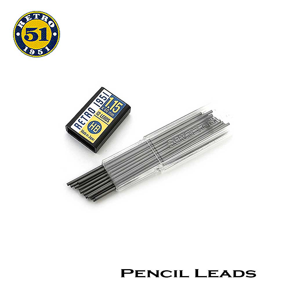 Retro51 Pencil 1.15 mm. Leads