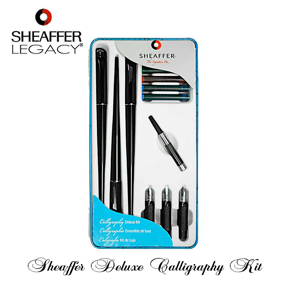 Sheaffer Calligraphy Deluxe Kit Ready For Shipping At